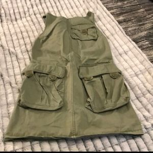 Beautiful army green Marc Jacob's dress